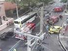 Acidente interdita parcialmente rua em Vila Isabel, na Zona Norte do Rio