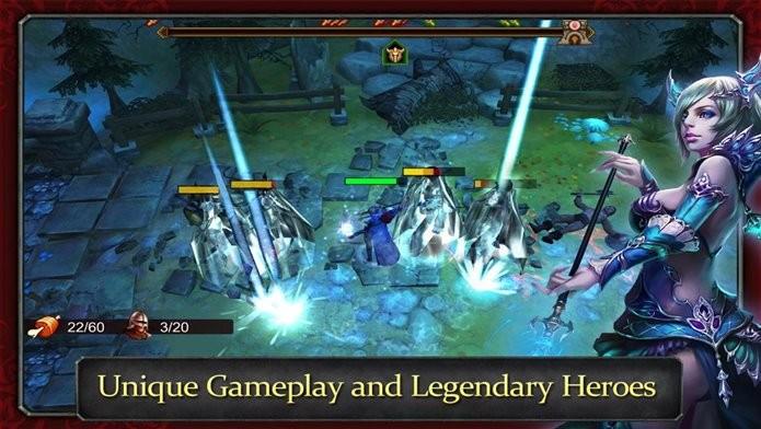 Jogo de RPG e ação com gráficos 3D (Foto: Divulgação)