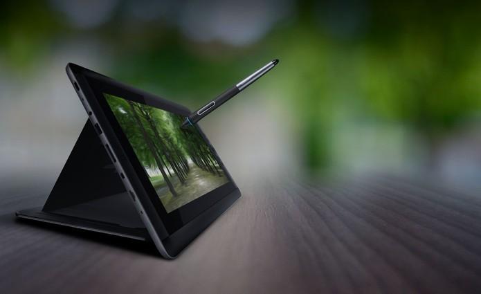 Monitor gráfico da Wacom pode ser utilizado conectado ao computador ou de maneira independente (Foto: Divulgação)