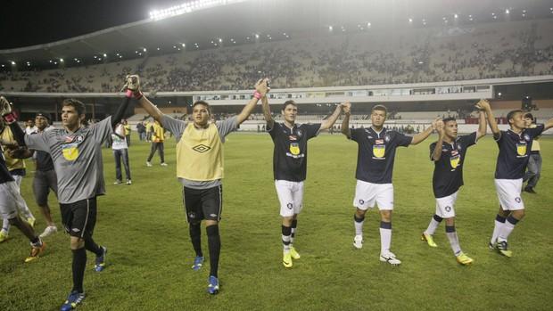 Atletas do Sub-20 estão sendo os grandes xodós da torcida em 2013 (Foto: Marcelo Seabra/O Liberal)