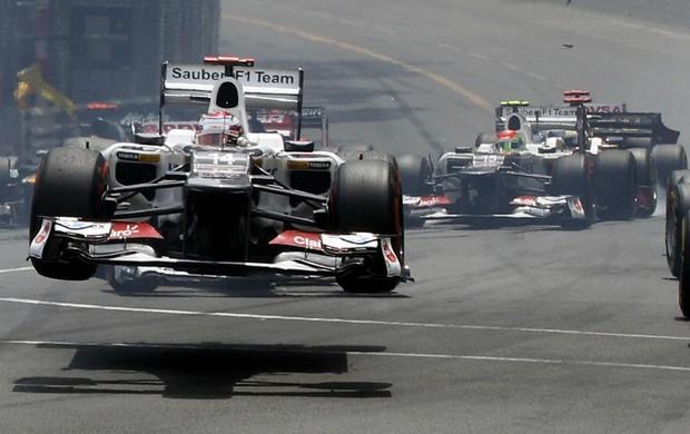 F1 Monaco Kamui Kobayashi (Foto: AP)