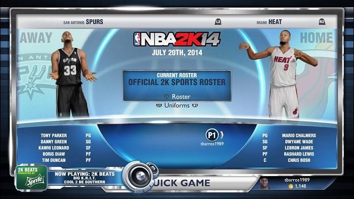 NBA 2K14: como atualizar as transferências da nova temporada | Dicas