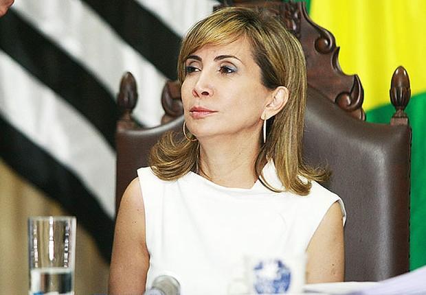 A prefeita de Ribeirão Preto, Darcy Vera (PSD) (Foto: Reprodução/Facebook)
