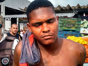 Homem mata colega de trabalho por R$ 3 em Feira de Santana (Foto: Ed Santos/Acorda Cidade)