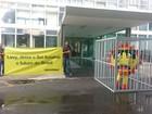 Greenpeace faz manifestação em frente ao Ministério da Fazenda