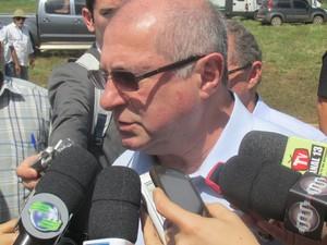Ministro da Comunicação destacou interesse do governo com o Projeto Loon (Foto: Catarina Costa/G1)