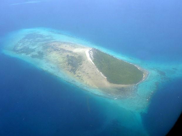Ilha na costa da Tanzânia (Foto: BBC)