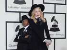 Madonna combina look com o do filho no Grammy Awards