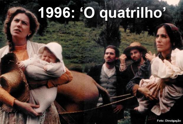 'O quatrilho' foi o indicado brasileiro ao Oscar em 1996 (Foto: Divulgação)