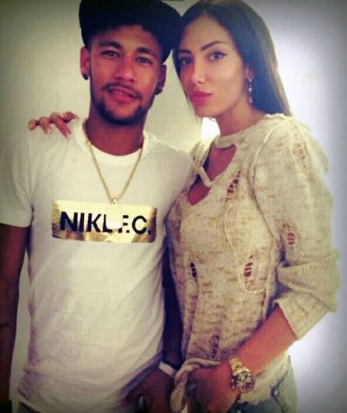 Soraja Vucelic  Neymar (Foto: Reprodução / Facebook)