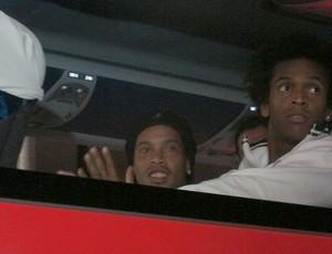 Ronaldinho, Flamengo e Atlético-mg (Foto: Janir Junior / Globoesporte.com)