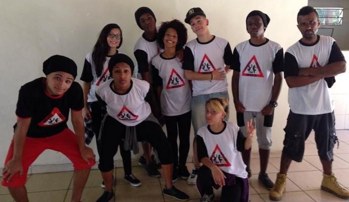 Grupo de dança 'Impacto' (Foto: Plugue)