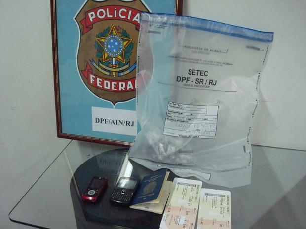 Homem foi internado e submetido a lavagem estomacal (Foto: Divulgação/Polícia Federal)