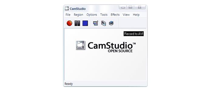 CamStudio, software para gravação (Foto: Divulgação)
