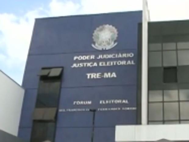 Fachada do Tribunal Regional Eleitoral do Maranhão (Foto: Reprodução / TV Mirante)