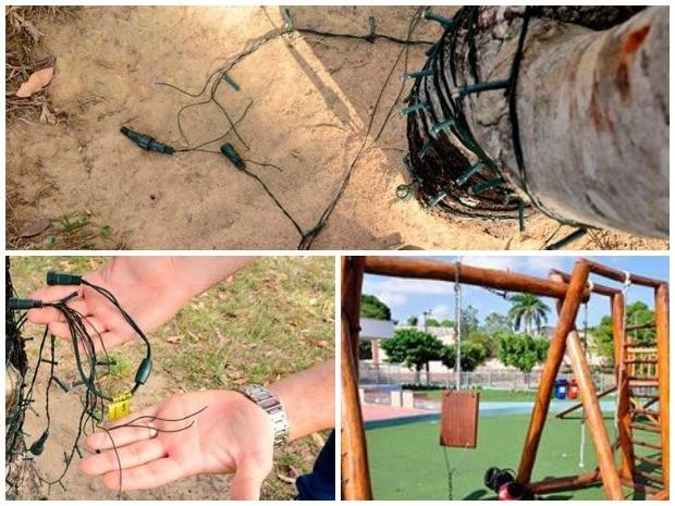 Atos de vandalismo ocorreram em várias regiões da capital (Foto: Reprodução/ Facebook PMBV)