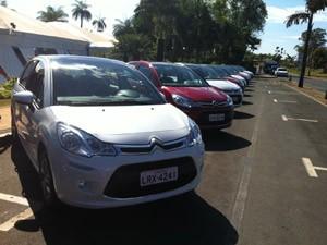 Novo Citroën C3 é mostrado em Brasília (Foto: Luciana Oliveira/G1)