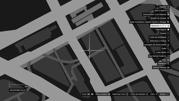 Procure a tesoura no mapa (Foto: Reprodução/Murilo Molina)