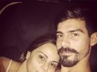 Viviane Araújo mostra intimidade com o noivo em rede social
