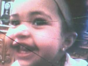 Kamilly de 1 ano e 9 meses foi vítima da síndrome do bebê espancado (Foto: Reprodução/EPTV)