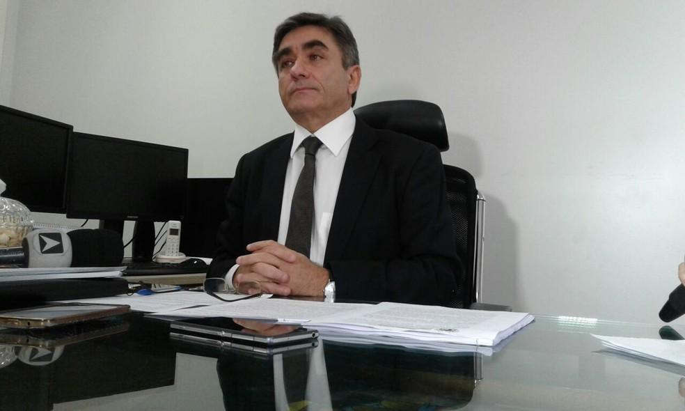 Desembargador Ricardo Gentil comentou que vai pedir ressarcimento (Foto: Gilcilene Araújo / G1 PI)