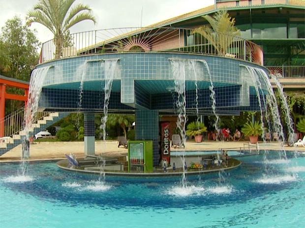 Resort de Águas de Lindóia (SP) será sede da Costa do Marfim durante a Copa do Mundo (Foto: Sávio Monteiro / Reprodução EPTV)