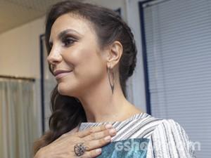 Ivete Sangalo look Top 7 (Foto: Camila Serejo/TV Globo)