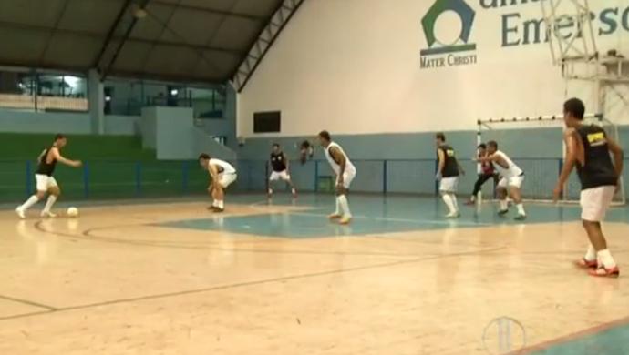 Mossoró Esporte Clube estreia na Taça Brasil de Futsal (Foto: Reprodução/Inter TV Cabugi)