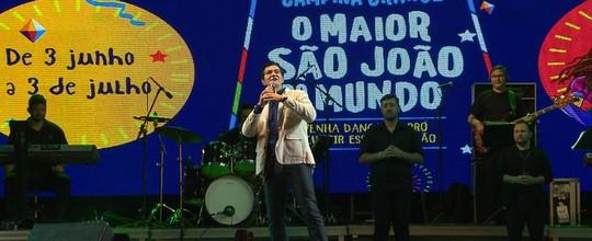 Padre Manzotti exalta shows cristãos em CG (Reprodução/TV Paraíba)