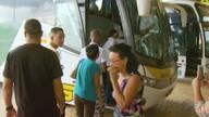 Foliões pegam a estrada para passar o carnaval