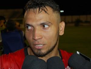 Reginaldo Júnior, atacante do Campinense (Foto: Silas Batista / GloboEsporte.com)