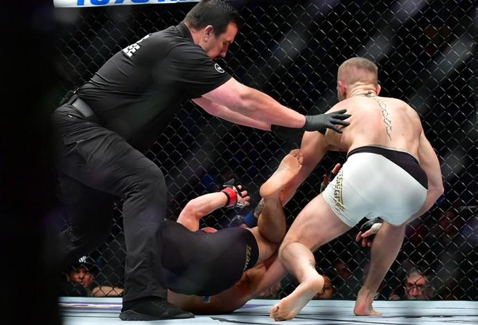 Conor McGregor x Eddie Alvarez (Foto: Jason Silva)