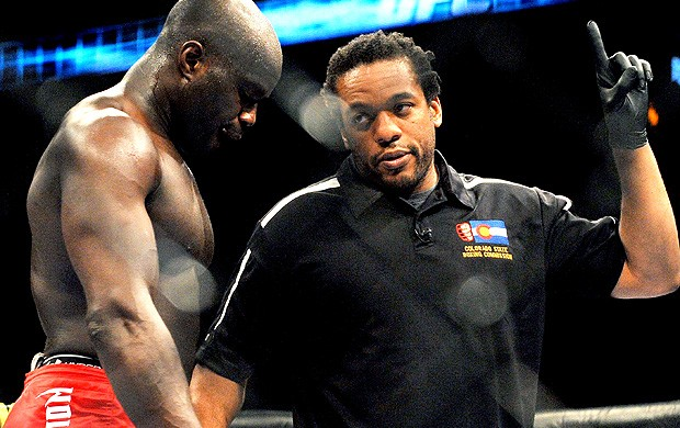 Herb Dean, juiz do UFC (Foto: Getty Images)