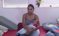 Mãe de bebê com microcefalia tem manchas em nova gravidez (Reprodução/TV Globo)