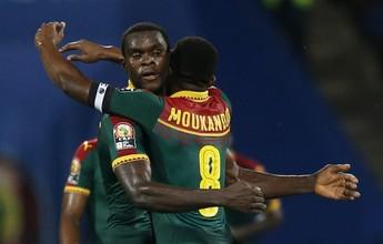 Gana dá trabalho, mas Camarões faz 2 a 0 e vai enfrentar o Egito na decisão