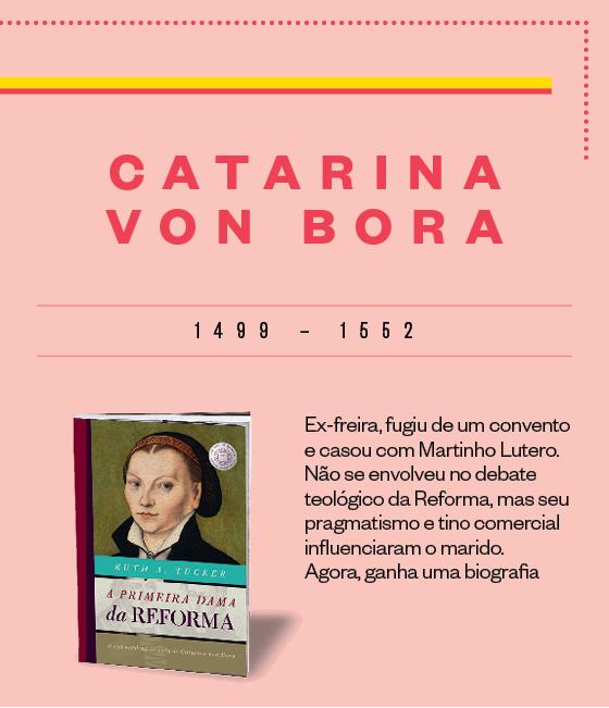 Ficha: Catarina Von Bora (Foto: Época)