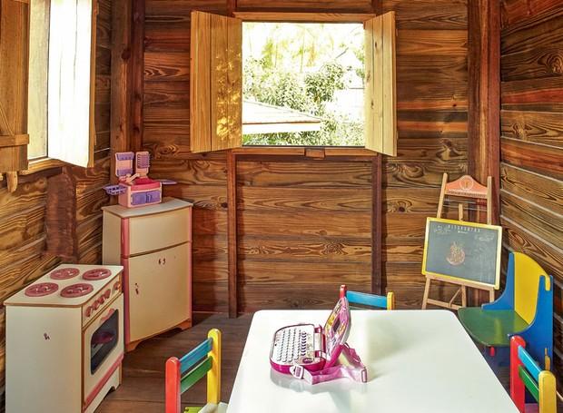 casa-na-arvore-madeira-paisagista-odilon-claro-anni-verde-cabana-autoclave-pinus-interior (Foto: Victor Affaro/Editora Globo)