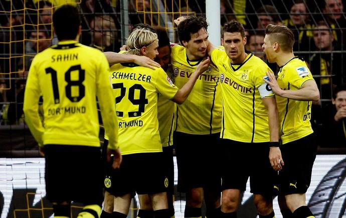 Hummels borussia dortmund gol Nuremberg (Foto: Agência Reuters)