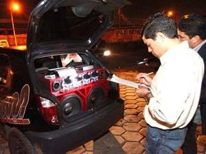 Polícia Civil fez 69 autuações por poluição sonora na capital (Foto: Divulgação)