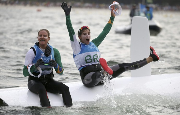 martine grael vela rio 2016 olimpíada (Foto: REUTERS/Benoit Tessier)