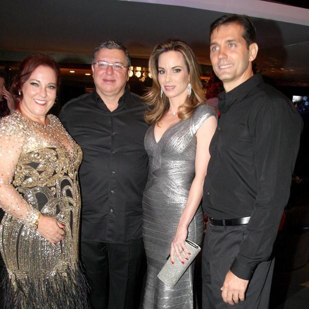 Priscilla Levinsonh, Boninho, Ana Furtado e Emerson Marieto (Foto: Antonio Kämpfee/Divulgação)