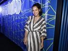 Yanna Lavigne, grávida, se diverte em festa no Rio