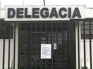Delegacia de castro (Foto: Reprodução/RPC)