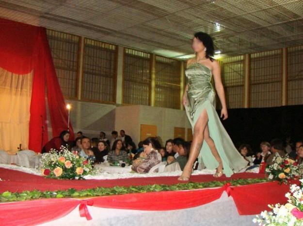 Concurso de beleza reúne jovens da Fundação Casa em Cerqueira César (Foto: Divulgação / Camila Souza)