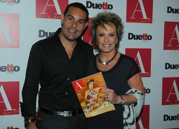 Marcello Frisoni e Ana Maria Braga (Foto: Agnews)