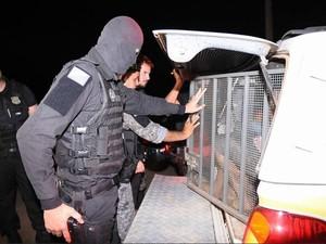 Invasores pretendiam matar presos do regime semiaberto em Rio Branco (Foto: Divulgação/Secom Acre)