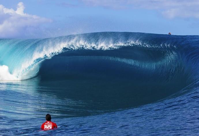 Etapa do WCT Teahupoo Taiti (Foto: Divulgação/ASP)