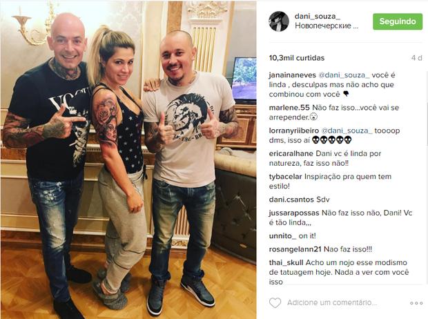 Danielle Souza (Foto: Reprodução/Instagram)