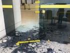 Quadrilha explode caixa de banco dentro do prédio do TRE em Natal
