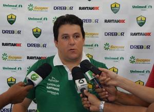 Fernando Marchiori treinador do Cuiabá (Foto: Assessoria/Cuiabá Esporte Clube)